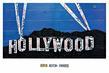 Aaron Foster Hollywood Zeichen bei Nacht