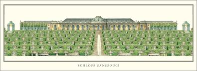 Georg W. von Knobelsdorff Schloss Sanssouci