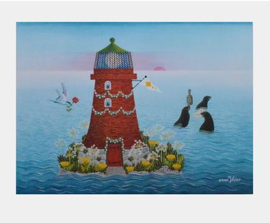 Erna Voigt Der Geburtstag des Leuchtturms