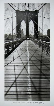 Henri Silberman Brooklyn Bridge, East River, New York