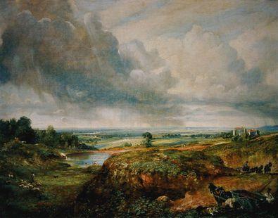 John Constable Hampstead Heath 1825