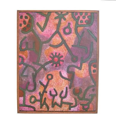 Paul Klee Flora am Felsen