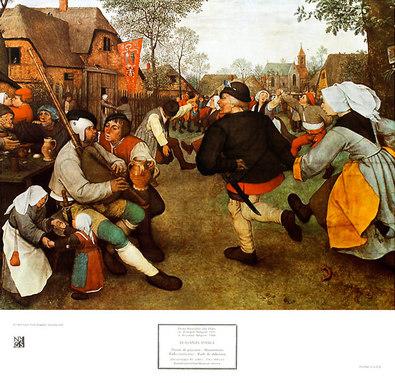 Pieter Brueghel Peasants Dance