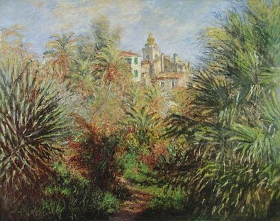 Claude Monet Die Gaerten in Bordighera  1884