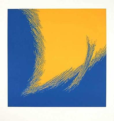 Paul Nievergelt Dualitaet III (Blau Gelb)