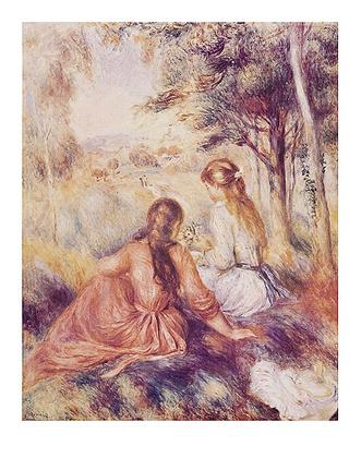 Pierre Auguste Renoir In the Meadow