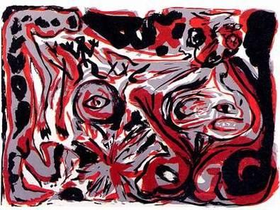 A.R. Penck ohne Titel 1992