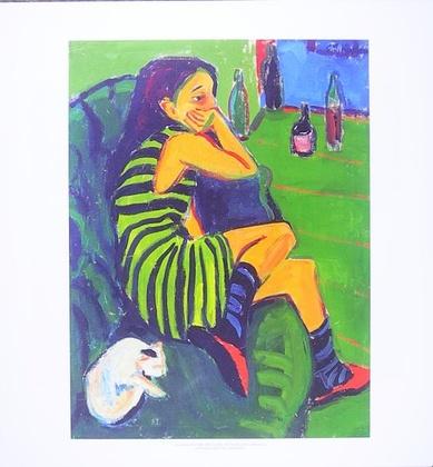 Ernst Ludwig Kirchner Die Artistin