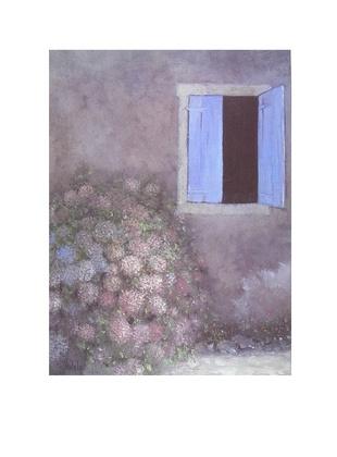 Lutz Muentzfeld blaues Fenster