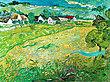 Vincent van Gogh Sonnige Wiese bei Auvers 1890