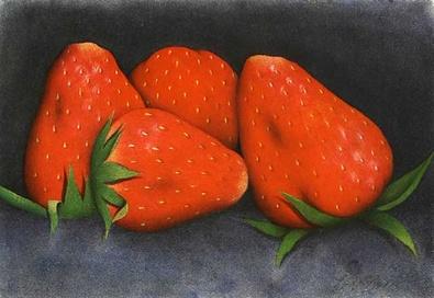 Eva Bostroem Erdbeeren Fraises