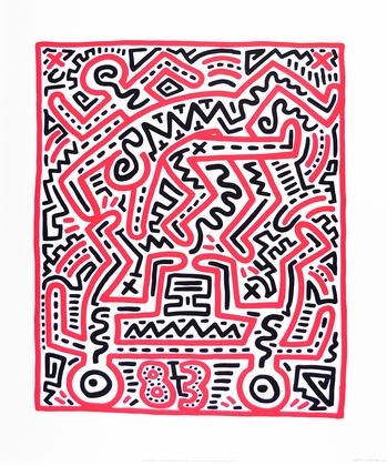 Keith Haring Fun Gallery Exhibition