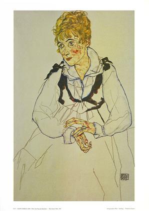 Egon Schiele Die Frau des Kuenstlers, 1917 (S 54)