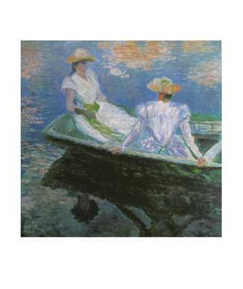 Claude Monet Junge Maedchen im Boot