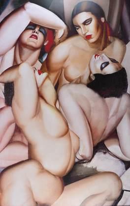 Tamara De Lempicka Group de Quarter Nus