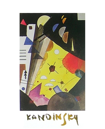 Wassily Kandinsky Spannung in Hoehe
