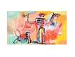 Basquiat jean michel boy an dog in a johnnypump medium
