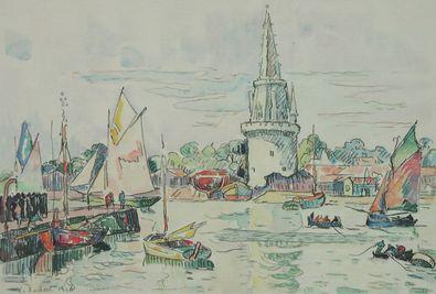 Paul Signac La Rochelle   Hafenansicht