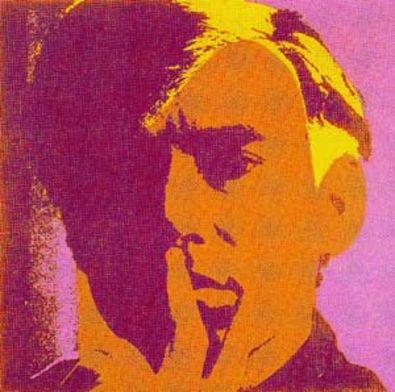 Andy Warhol Selbstportraet rot