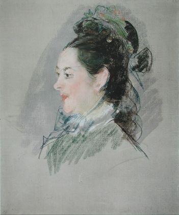 Edouard Manet Frauenbildnis