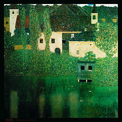 Gustav Klimt Castello al lago