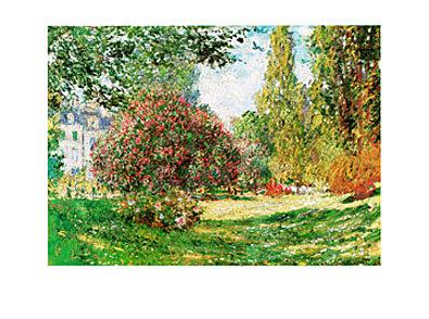 Claude Monet Il Parco Monceau