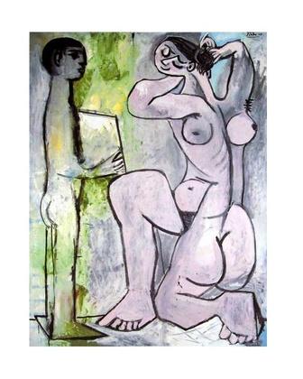 Pablo Picasso La Coiffure
