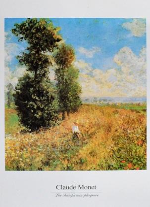 Claude Monet Les champs aux pleupiers
