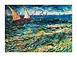 Van gogh vincen seascape at saintes maries 40173 medium