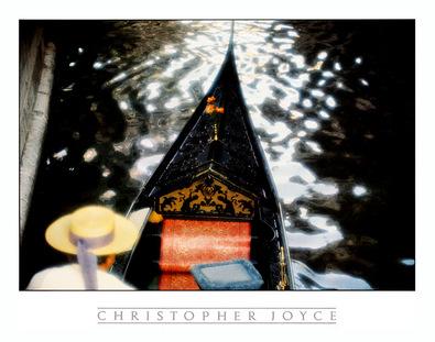 Christoper Joyce Gondola, Venedig~Gondoliere
