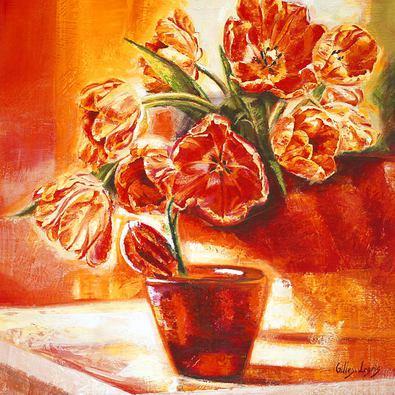 Gilles Legris Wide Open Tulips