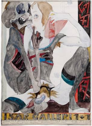 Horst Janssen Galerie 1und1 Tod und Eros