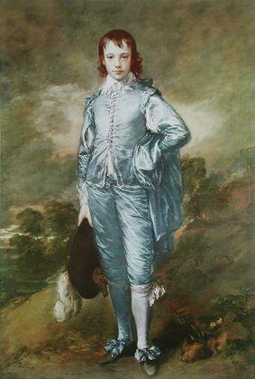 Thomas Gainsborough Knabe in Blau ca  1770