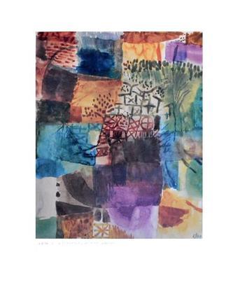 Paul Klee Erinnerung an einen Garten