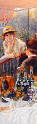 Pierre Auguste Renoir Das Fruehstueck der Ruderer (detail), ca. 1881