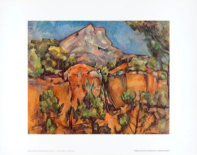 Paul Cezanne Mount Sainte-Victoire