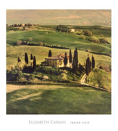 Elisabeth Carmel Tuscan Villa