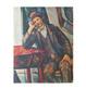Paul Cezanne Mann mit Pfeife