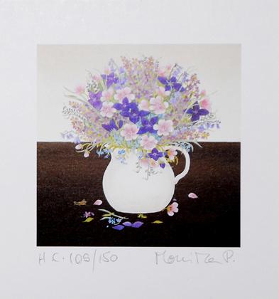 M. Piotrowska Stillleben mit Blumenvase