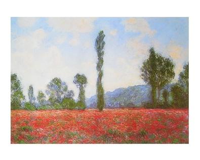 Claude Monet Mohnfeld