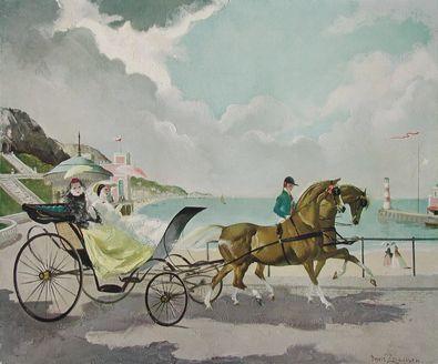 Doris Zinkeisen Die Esplanade