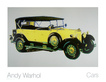 Warhol andy cars mercedes typ 400 bj  1925  gelb medium