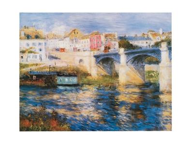 Pierre-Auguste Renoir Bruecke in Chatou