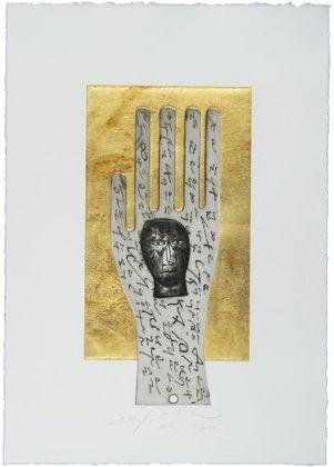 Mimmo Paladino Hand (2002)