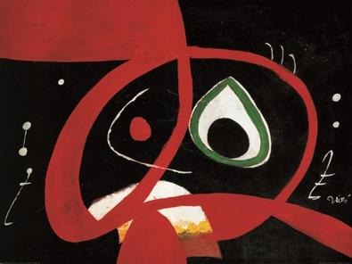 Joan Miro Kopf