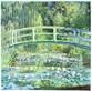 Claude Monet Waterlilies and Japanese Bridge