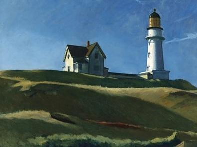 Edward Hopper Lighthouse Hill, 1927
