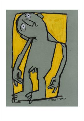 Petrus De Man Sans titre, 2007 II