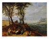 Jan Brueghel Rast auf einem Huegel (mittelgross)