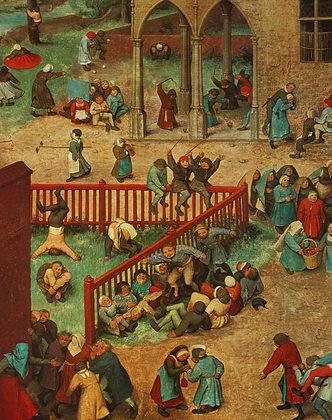 Pieter Brueghel Kinderspiele, 1560 (Ausschnitt)